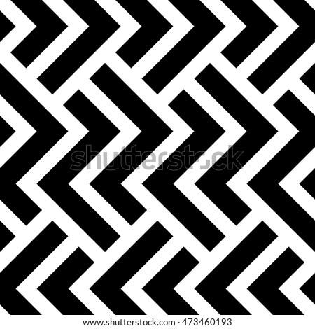 vektör · siyah · beyaz · yarım · ton · geometrik - stok fotoğraf © CreatorsClub