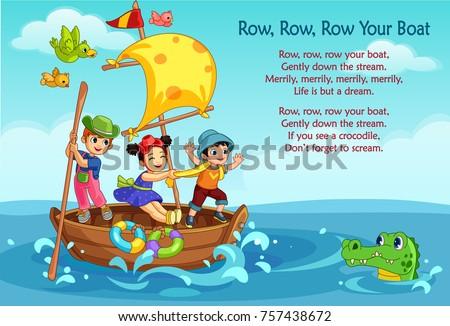 crianças · cena · ilustração · crianças · criança · luz - foto stock © bluering