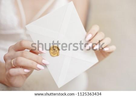 kopercie · kwiat · wstążka · biały - zdjęcia stock © vbdpua