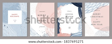 abstract winter card Stock photo © get4net