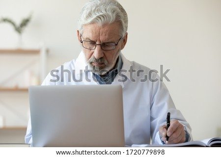 Doctor Doing Check Stock photo © AndreyPopov