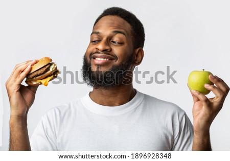 Unhealthy eating Stock photo © andreasberheide