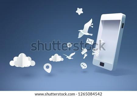wifi · segno · simbolo · wireless · connessione · icona - foto d'archivio © maximmmmum