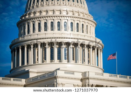 edifício · Washington · DC · luz · solar · dia · EUA · casa - foto stock © lunamarina