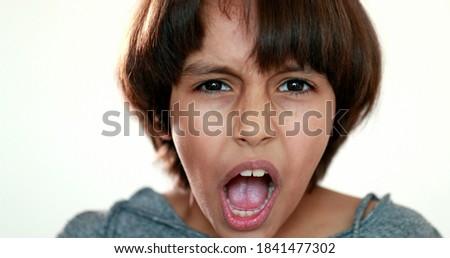 Stockfoto: Cute · weinig · jongen · geïsoleerd · witte