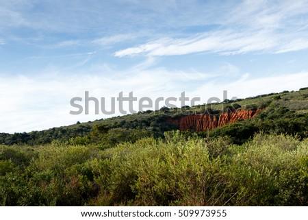 suelo · erosión · imagen · suelo · desierto · muchos - foto stock © markdescande