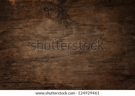 Natural Dark Wooden background. Old dirty wood tables or parquet with knots and holes and aged partc Stock photo © DavidArts