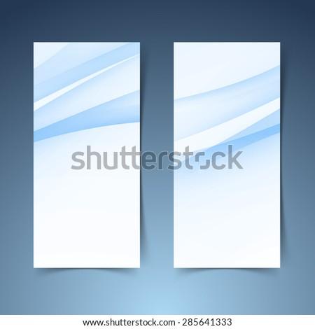 conjunto · abstrato · azul · banners · três · negócio - foto stock © essl