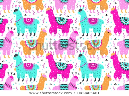 Cartoon cute doodles Latin America seamless pattern Stock photo © balabolka