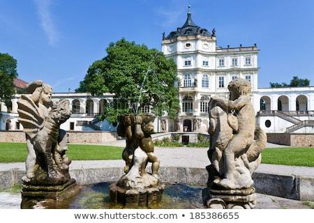 Kasteel Tsjechische Republiek barok dorp noorden gebouw Stockfoto © borisb17