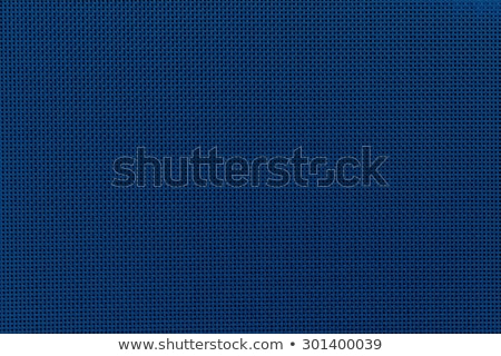 Stock fotó: Seamless Blue Fabric Texture