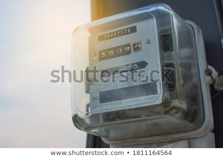Kilowatt Meter Stock photo © AndreyPopov