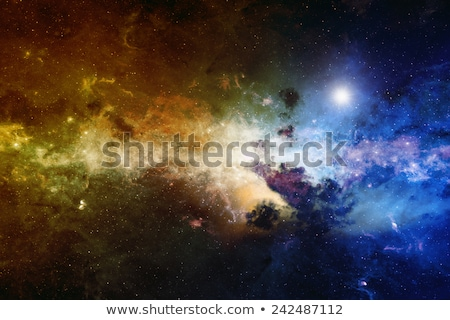 Astronômico científico nebulosa estrelas profundo espaço Foto stock © NASA_images