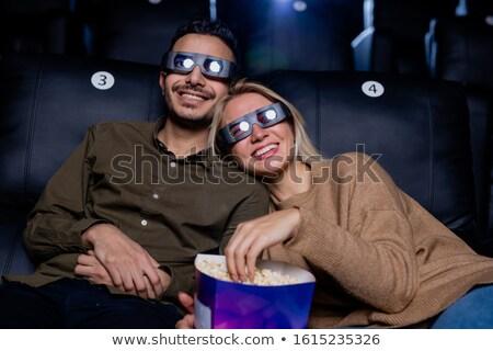 Fericit tineri afectuos datele 3D Imagine de stoc © pressmaster