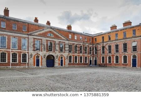 Előcsarnok Dublin kastély Írország épület város Stock fotó © borisb17