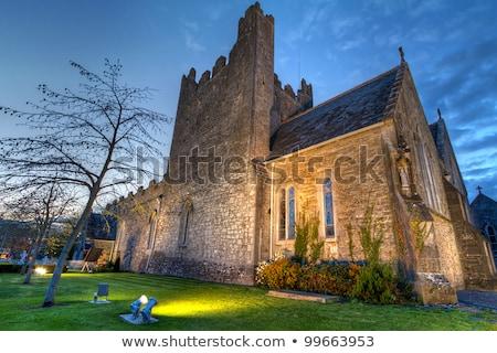 Holy Trinity Abbey Church in Adare, Ireland Stock photo © borisb17
