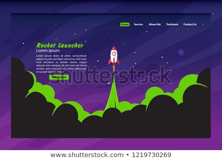 Buddhism concept landing page. Stock photo © RAStudio