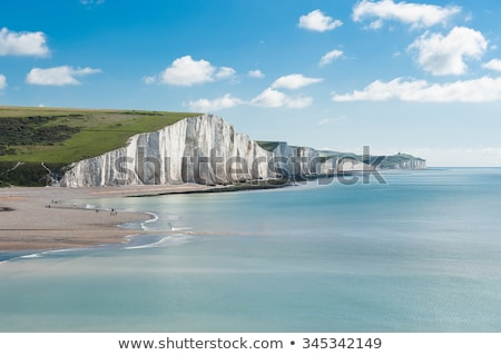 View of white cliffs of Dover from the sea Stock photo © duoduo