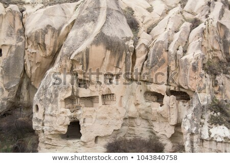 Underground cities in Capadocia Turkey Stock photo © photoblueice