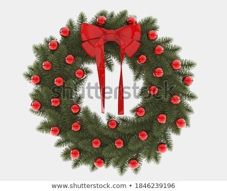 ornamental wreath frame stock photo © adrian_n