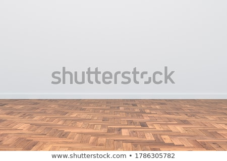 empty room with parquet floor stock photo © jordygraph
