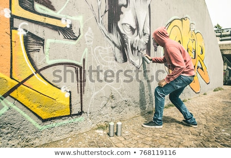 Urban vandalism Stock photo © sahua