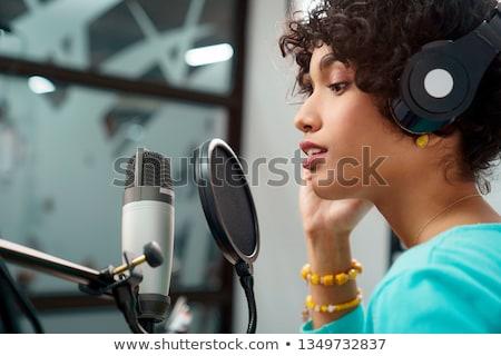 Negro radio aislado blanco negocios luz Foto stock © cidepix