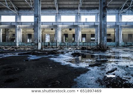 Old building with destroyed roof. Stock photo © deyangeorgiev