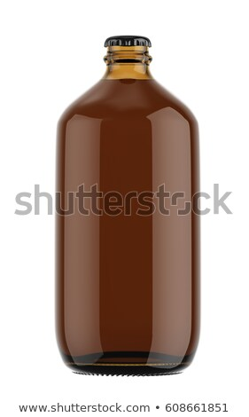 Empty bottle brown with a stopper    Stock photo © alexandre17