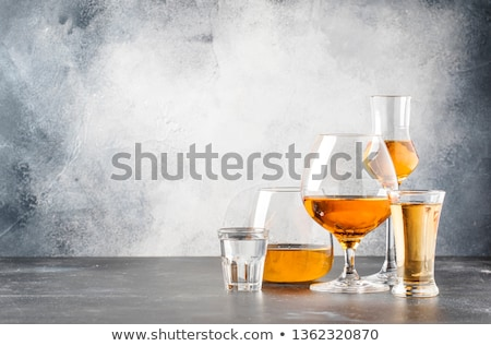 assorted bar glasses Stock photo © Galyna