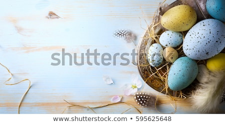 Stock photo: Flowers Easter Background