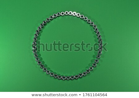 Metal · fındık · 3D · render - stok fotoğraf © garyfox45116