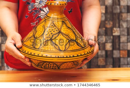 north african pottery stock photo © njaj