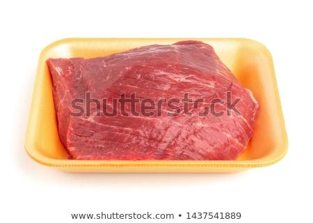 Porterhouse Meat Tray Stock photo © kitch