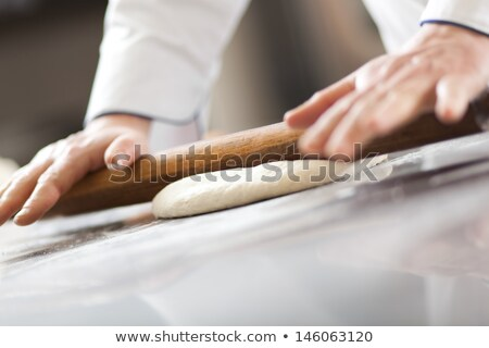 Pizza chef alimentos pan sombrero colores Foto stock © photography33