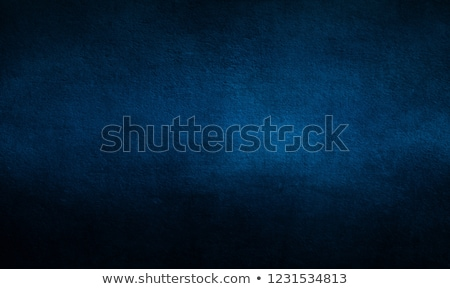 Stock photo: dark blue grunge old paper vintage retro style background