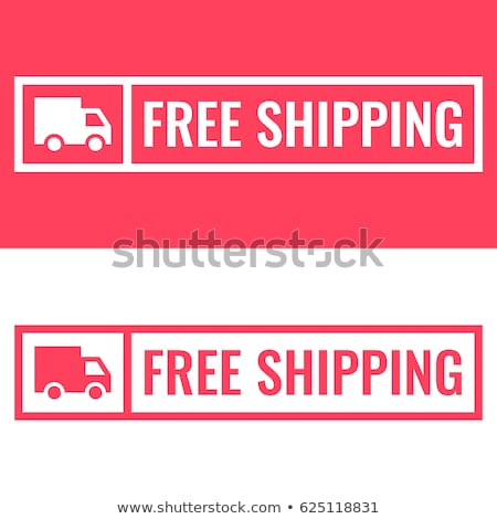Stock photo: Free shipping rubber stamp