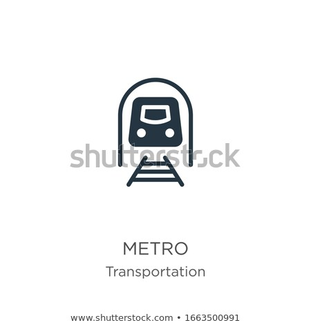 signs used in stations of rail transport systems Stock photo © experimental