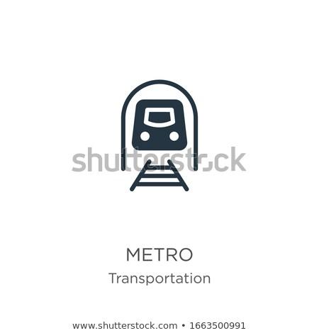 passageiros · metro · abstrato · cidade · grupo · urbano - foto stock © experimental