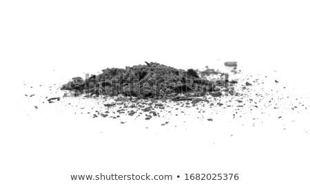 As gras brand natuur gevaar vernietiging Stockfoto © timbrk