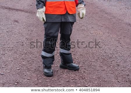 shocked female construction worker stock photo © photography33