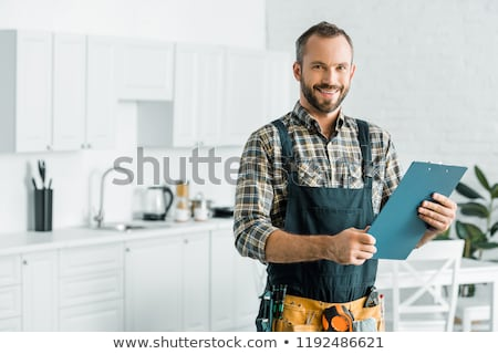 plumber smiling stock photo © photography33