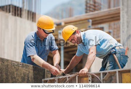 Construction workers collaborating Stock photo © photography33