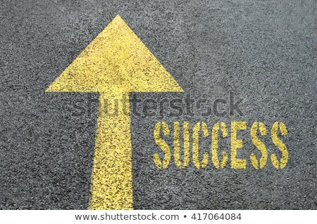 Road Sign with Word Opportunity Yellow stock photo © Quka