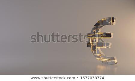 ユーロ · 背景 · お金 - ストックフォト © lillo