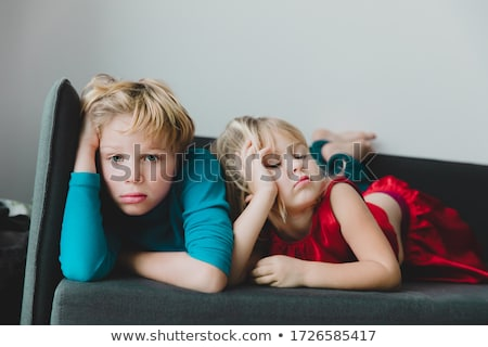 Bored Kids Stock photo © cteconsulting