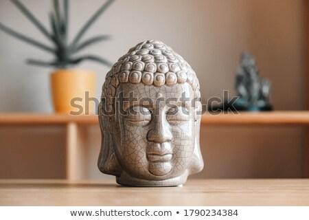 Buddha wooden statuette Stock photo © Antonio-S