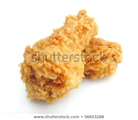 куриные · жареный · продовольствие · груди · обеда · белый - Сток-фото © jarenwicklund