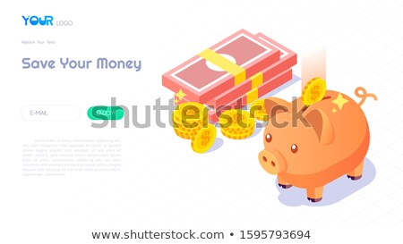 moneybox and coin stock photo © italianestro