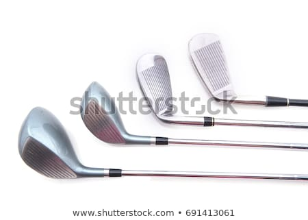Modern blue golf club isolated Stock photo © Bunwit